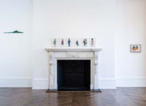 JÖRG IMMENDORFF LIDL Works and Performances from the 60s and Late Paintings after Hogarth 12 May through 2 July 2016 MAYFAIR, LONDON, Installation View 9