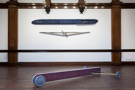 GIANNI PIACENTINO, WORKS 1965-2006, London, 2015, Installation Image 3