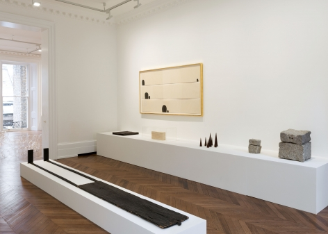 JAMES LEE BYARS Early Works and The Angel 17 January through 16 March 2013 MAYFAIR, LONDON, Installation View 6