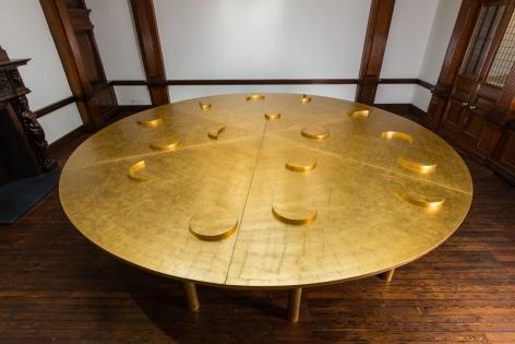 JAMES LEE BYARS, The Diamond Floor, London, 2015, Installation Image 17
