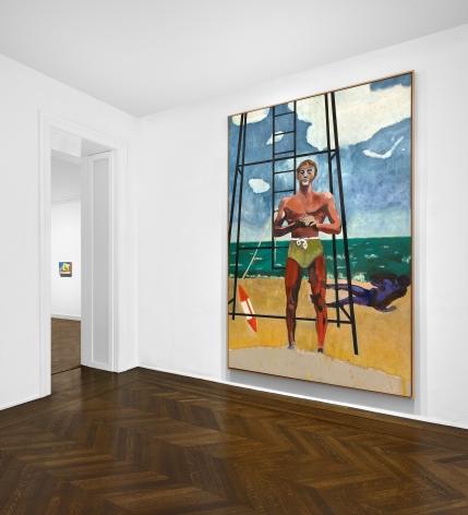 Peter Doig, New York, 2017, Installation Image 13