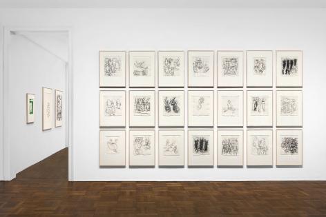 Georg Baselitz, 1977-1992, New York, 2017-2018, Installation Image 1