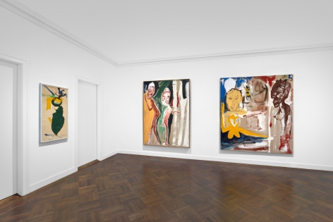Don Van Vliet, Parapliers the Willow Dipped, Paintings 1967-1997, New York, 2020, Installation Image 14