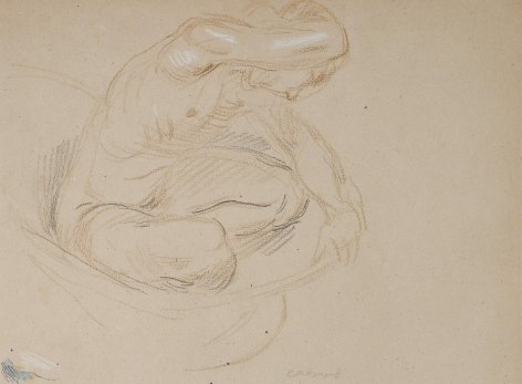 """""""Untitled Male Nude"""", ca. 1940-1949"""