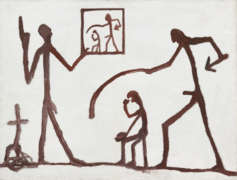 """""""Untitled (Group)"""", 1961"""