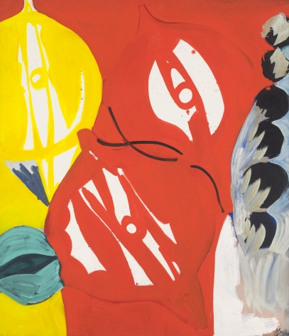 """""""Red in Red I"""", 1965"""