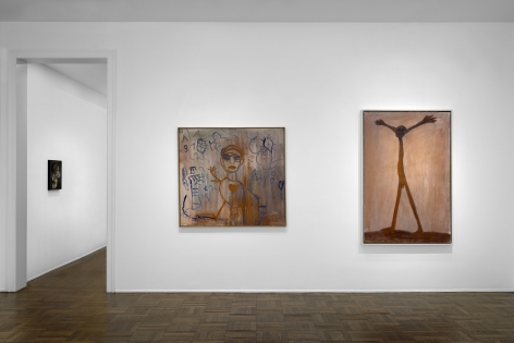 A.R. PENCK Early Works 9 June through 2 September 2016 UPPER EAST SIDE, NEW YORK, Installation View 1