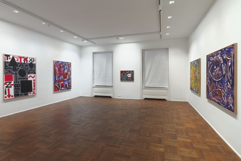 A.R. PENCK New Paintings 10 January through 9 March 2013 UPPER EAST SIDE, NEW YORK, Installation View 7