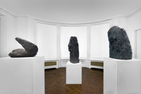PER KIRKEBY, Paintings and Bronzes from the 1980s, New York, 2018, Installation Image 18