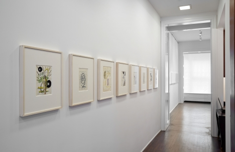 Sigmar Polke, Early Works on Paper, New York, 2014, Installation Image 11