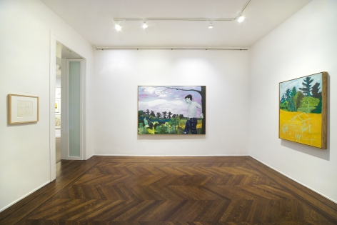 PETER DOIG Early Works 6 November 2013 through 3 January 2014 UPPER EAST SIDE, NEW YORK, Installation View 8
