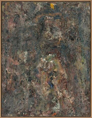 "Eugène Leroy, ""La tache Jaune (The Yellow Spot)"", 1983"