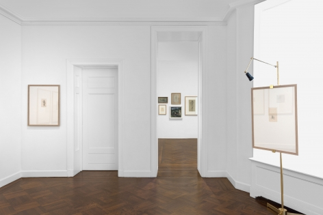 PIERRE PUVIS DE CHAVANNES, Works on Paper and Paintings, New York, 2018, Installation Image 14