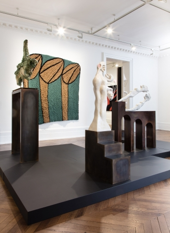 Enrico David, London, 2017, Installation Image 3
