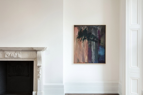 Per Kirkeby, Paintings and Bronzes from the 1980s, London, 2017, Installation Image 8