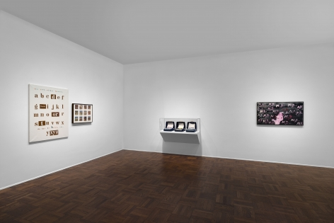 MARCEL BROODTHAERS Écriture 28 January through 26 March 2016 UPPER EAST SIDE, NEW YORK, Installation View 2