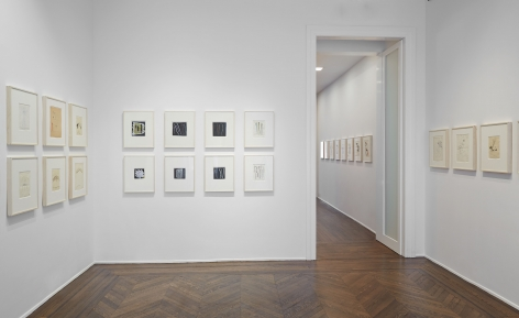 Sigmar Polke, Early Works on Paper, New York, 2014, Installation Image 14