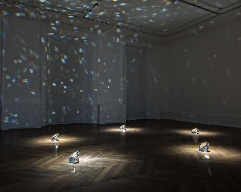 JAMES LEE BYARS, The Diamond Floor, London, 2015, Installation Image 4