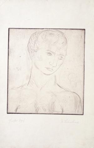 """""""Kopf, groß"""", 1912"""