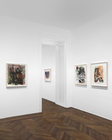 PER KIRKEBY Works on Paper, Works in Brick 20 November 2019 through 25 January 2020 UPPER EAST SIDE, NEW YORK, Installation View 13