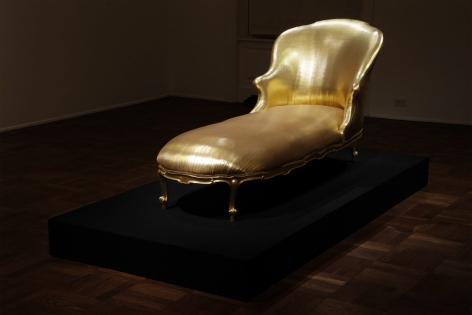 James Lee Byars, Golddust is My Ex-Libris, 2009, Michael Werner New York Image 3