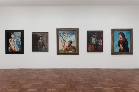 Francis Picabia, Late Paintings, New York, 2011-2012, Installation Image 6