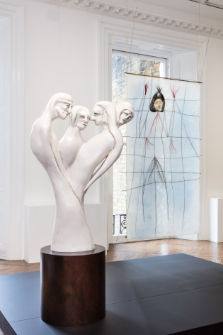 Enrico David, London, 2017, Installation Image 9