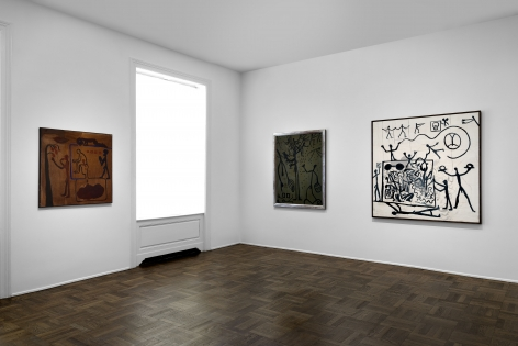 A.R. PENCK Early Works 9 June through 2 September 2016 UPPER EAST SIDE, NEW YORK, Installation View 6