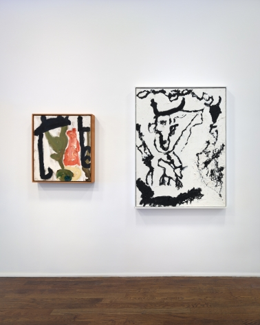 Don Van Vliet, Parapliers the Willow Dipped, Paintings 1967-1997, New York, 2020, Installation Image 9