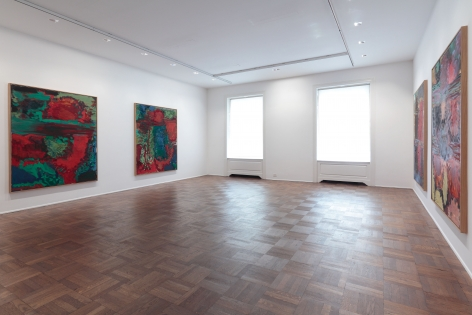 Per Kirkeby, New Paintings, New York, 2011, Installation Image 6