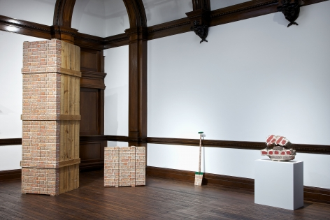MARCEL BROODTHAERS Décor: A Conquest and Bricks: 1966-1975 21 November 2013 through 18 January 2014 MAYFAIR, LONDON, Installation View 15