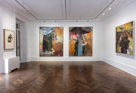 JÖRG IMMENDORFF, Questions from a Painter Who Reads, London, 2018, Installation Image 7