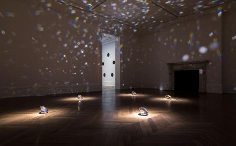 JAMES LEE BYARS, The Diamond Floor, London, 2015, Installation Image 8