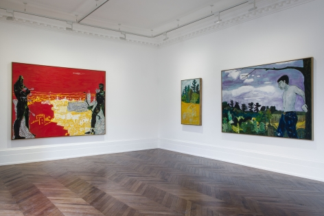 Peter Doig, Early Works, London, 2014, Installation Image 6