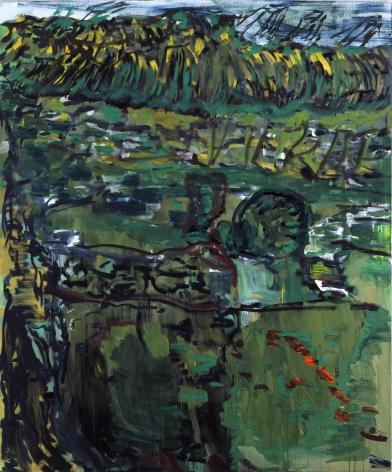 "Per Kirkeby, ""Prisonnier de la Sainte Agonie I"", 2009"