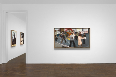 JÖRG IMMENDORFF Questions from a Painter Who Reads 21 February through 13 April 2019 UPPER EAST SIDE, NEW YORK, Installation View 1