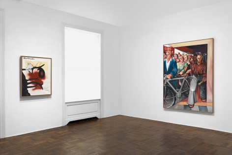 JÖRG IMMENDORFF Questions from a Painter Who Reads 21 February through 13 April 2019 UPPER EAST SIDE, NEW YORK, Installation View 5