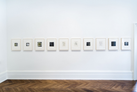 Sigmar Polke, Early Works on Paper, London, 2015, Installation Image 12