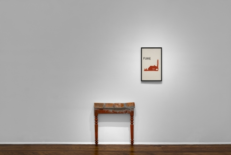 MARCEL BROODTHAERS Écriture 28 January through 26 March 2016 UPPER EAST SIDE, NEW YORK, Installation View 12