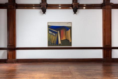 MARKUS LÜPERTZ, Tent Paintings, 1965, London, 2018, Installation Image 8