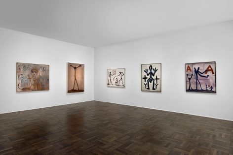 A.R. PENCK Early Works 9 June through 2 September 2016 UPPER EAST SIDE, NEW YORK, Installation View 2