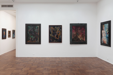Francis Picabia, Late Paintings, New York, 2011-2012, Installation Image 2