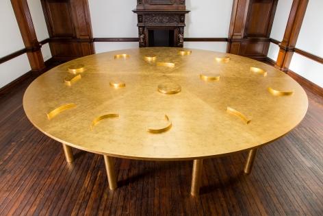 JAMES LEE BYARS, The Diamond Floor, London, 2015, Installation Image 16