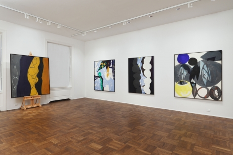 ERNST WILHELM NAY, Paintings, New York, 2012, Installation Image 6