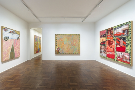 PETER DOIG Early Works 6 November 2013 through 3 January 2014 UPPER EAST SIDE, NEW YORK, Installation View 1