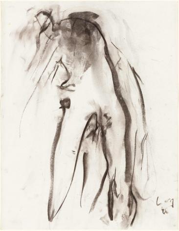 "Eugène Leroy, ""Untitled"", 1990"