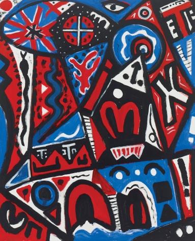 """System - Problem - abstrakt (System - Problem - abstract)"", 2010"