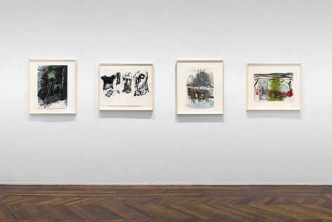 PER KIRKEBY Works on Paper, Works in Brick 20 November 2019 through 25 January 2020 UPPER EAST SIDE, NEW YORK, Installation View 17
