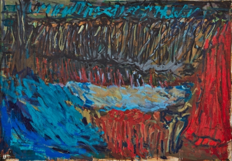 """Per Kirkeby, """"Untitled"""", 2011"""