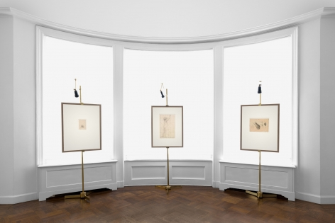 PIERRE PUVIS DE CHAVANNES, Works on Paper and Paintings, New York, 2018, Installation Image 15